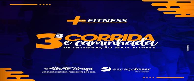3ª Corrida e Caminhada Mais Fitness