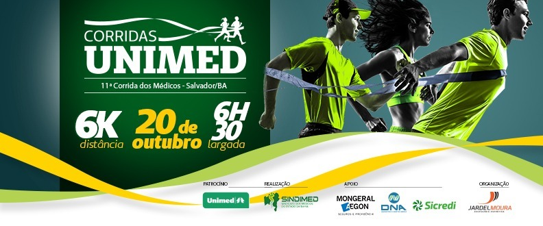 CORRIDAS UNIMED - 11ª CORRIDA DOS MÉDICOS