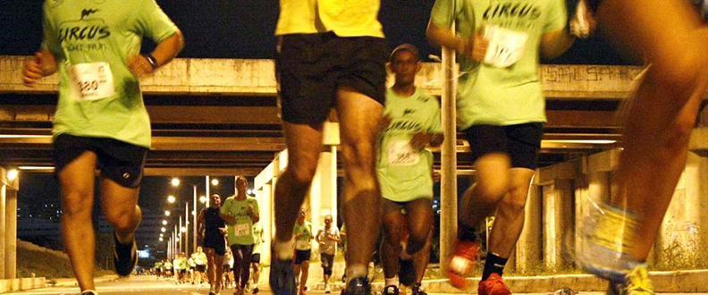 Corrida Circus Night Run 2015