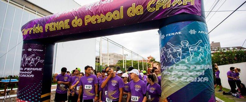 Corrida e Caminhada Fenae do Pessoal da CEF Sul