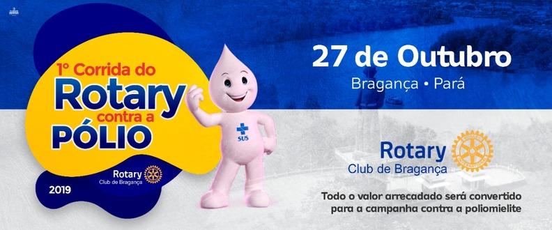"""1ª Corrida Rotary Bragança """" Contra a Pólio"""""""