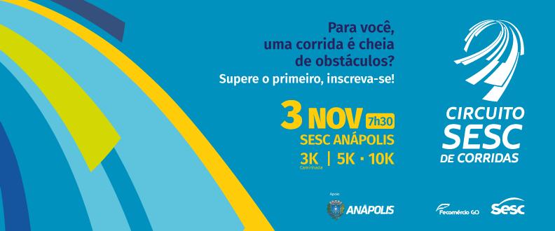 Circuito SESC de Corridas - Anápolis