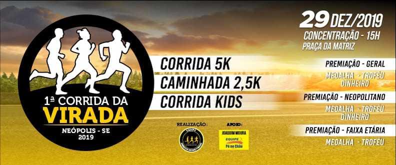 I Corrida da Virada 2019-Equipe Amigos da Estrada
