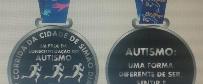 1ª Corrida EM PROL DO AUTISMO em Simão Dias.