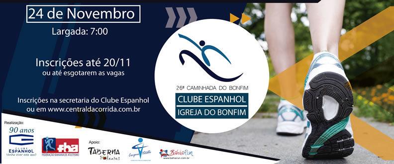 26ª Caminhada Clube Espanhol-Igreja do Bonfim 2019