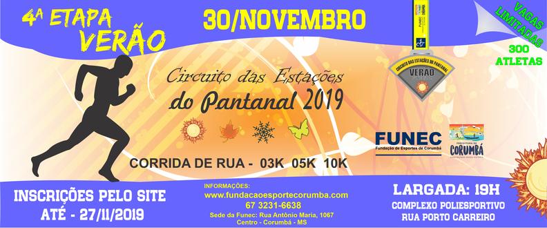 4ª ETAPA - VERÃO - CIRCUITO DAS ESTAÇÕES PANTANAL