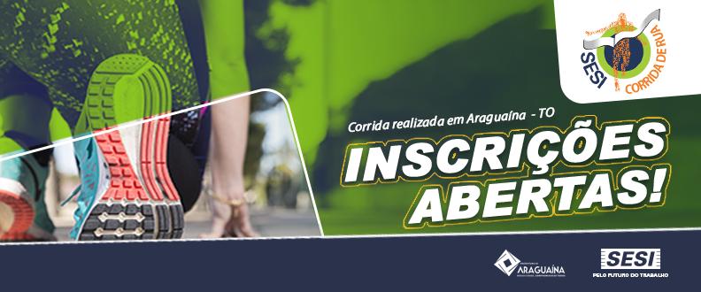 SESI Corrida de Rua - Edição 2019 Araguaína TO
