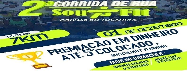 2ª CORRIDA DE RUA SOU+FIT