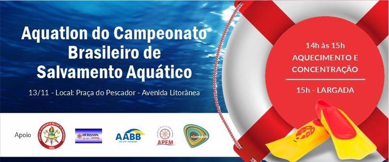 AQUATHLON -CAMP. BRASILEIRO DE SALVAMENTO AQUÁTICO