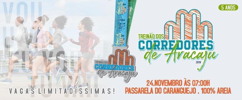 TREINÃO CORREDORES DE ARACAJU 2019 - ANO 5
