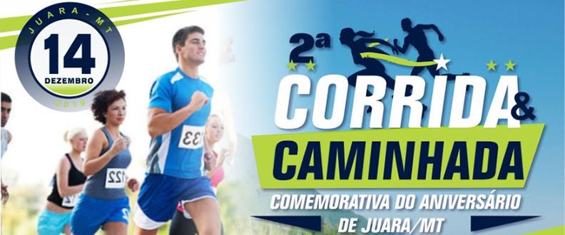 2º CORRIDA E CAMINHADA COMEMORATIVA DE JUARA MT