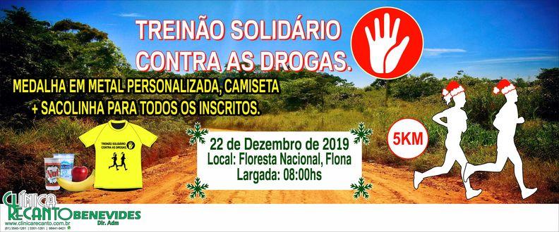 Treinão Solidário Contra as Drogas