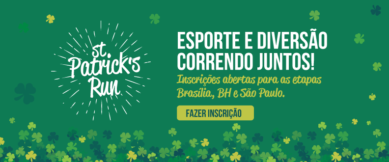 St. Patrick's Run 2020 - Brasília - VIRTUAL
