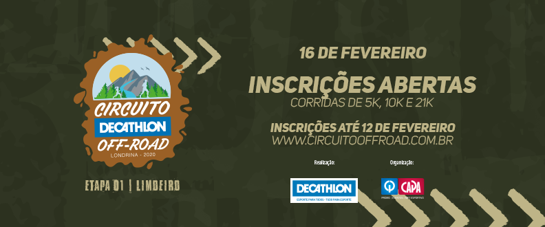 Circuito Decathlon Off Road – 1º Etapa 2020