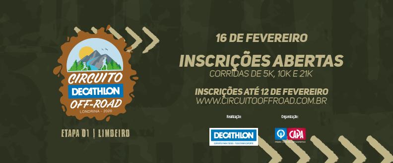 Circuito Decathlon Off Road – 1º Etapa 2020