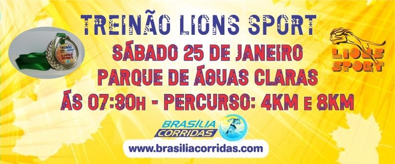 TREINÃO LIONS SPORT