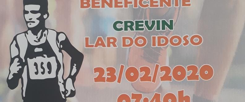 2º TREINÃO CORRIDA E CAMINHADA BENEFICIENTE CREVIN