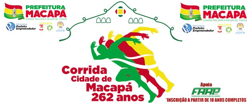 CORRIDA CIDADE DE MACAPÁ - 262 ANOS