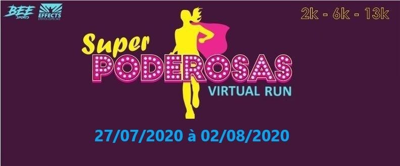 SUPER PODEROSAS - VIRTUAL RUN