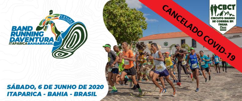 BAND RUNNING DAVENTURA 2020 - ITAPARICA - 1ª ETAPA