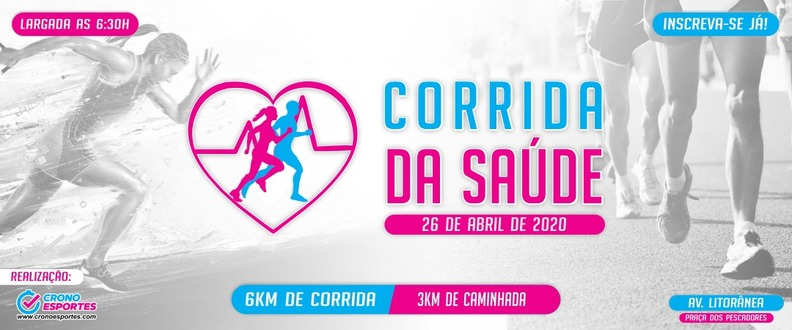 2ª CORRIDA DA SAUDE 2020