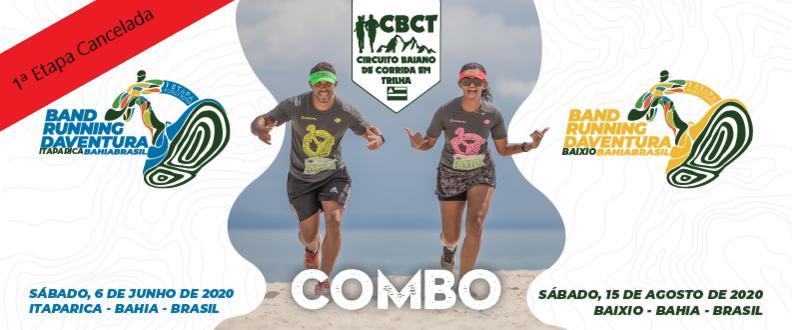 BAND RUNNING DAVENTURA 2020 - COMBO 1ª E 2ª ETAPAS