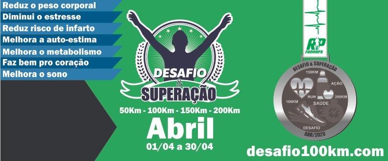 DESAFIO & SUPERAÇÃO - MÊS DA SAÚDE