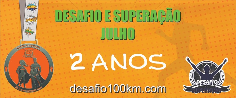 DESAFIO100KM VIRTUAL - RUN - BIKE - WORKOUT - SWIM