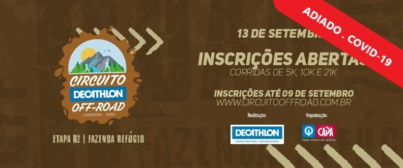 Circuito Decathlon Off Road – 2º Etapa  2020