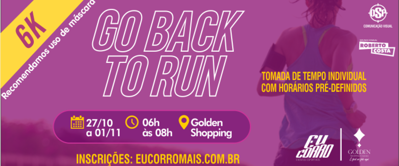 GO BACK TO RUN - TOMADA TEMPO IND