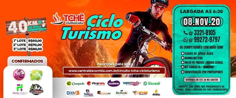"""1º Circuito TCHÊ """"Cicloturismo"""""""