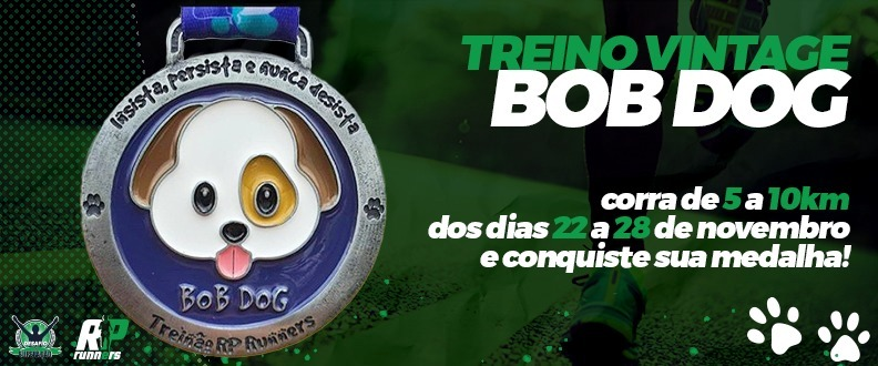Treino Virtual Vintage Bob Dog