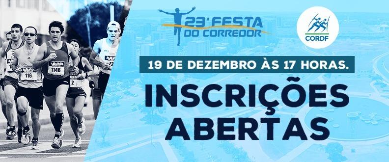 23ª FESTA DO CORREDOR