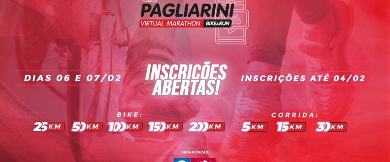 Pagliarini Virtual Marathon Bike & Run