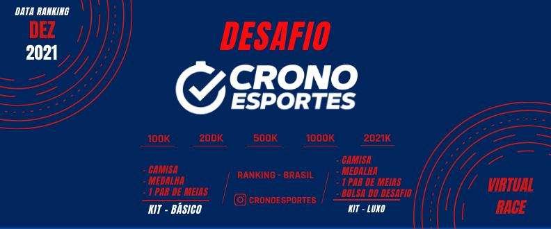 DESAFIO CRONO ESPORTES 2021