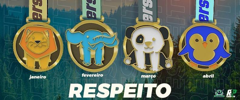 DESAFIO RESPEITO - COMBO 4 ETAPAS
