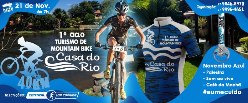 I CICLO TURISMO MTB CASA DO RIO 40K  CICLOTURISMO