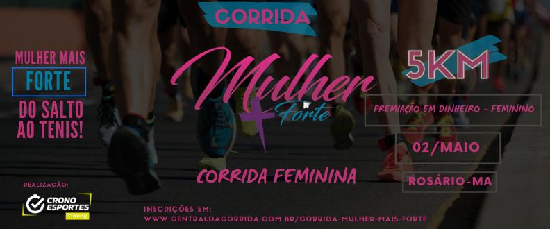 CORRIDA MULHER MAIS FORTE