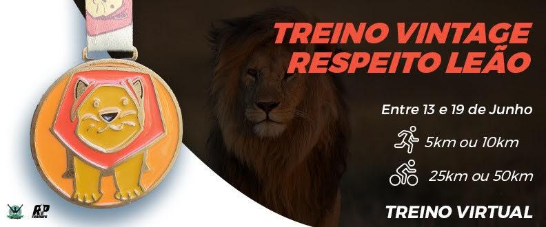 TREINO VINTAGE RESPEITO LEÃO