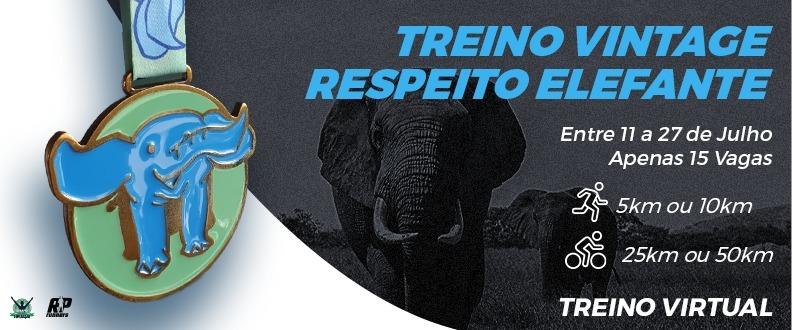 TREINO VINTAGE RESPEITO - ELEFANTE