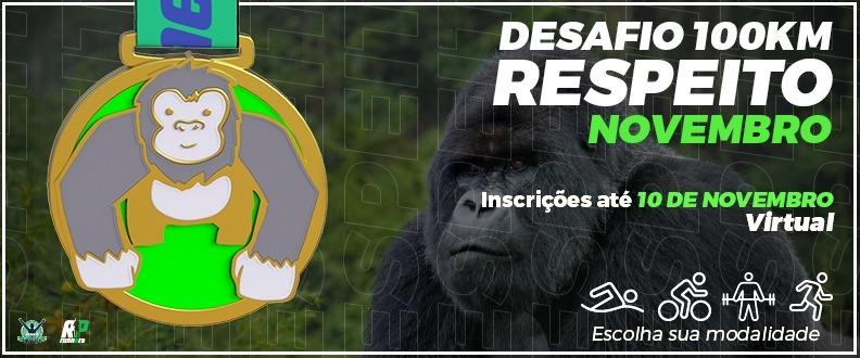 DESAFIO E SUPERAÇÃO - RESPEITO ETAPA NOVEMBRO