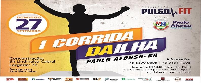 I Corrida Da Ilha - Paulo Afonso-Ba