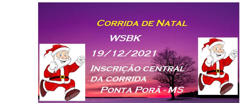Corrida de Natal WSBK Atleta D' Stak