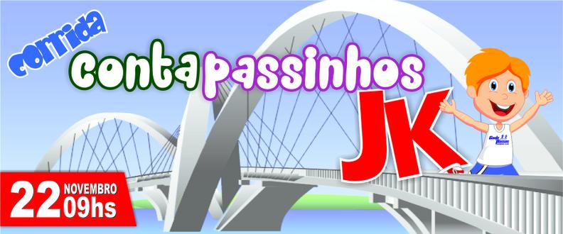 Corrida Infantil CONTA PASSINHOS Ponte JK