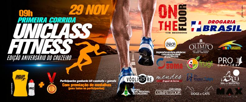 1ª Corrida e Caminhada Uniclass Fitness