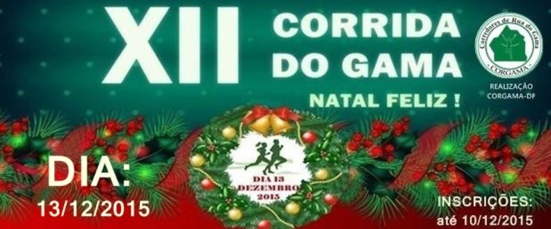 XII CORRIDA DO GAMA - NATAL FELIZ