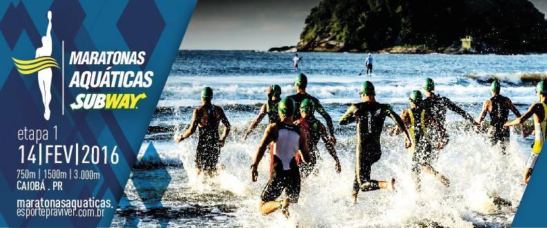 Maratonas Aquáticas - Etapa Caiobá