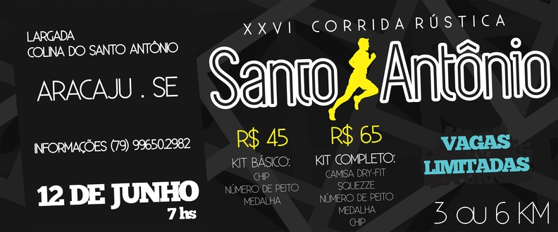 XXVI Corrida Rústica Santo Antônio