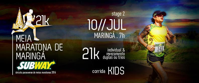 Meia Maratona De Maringa SUBWAY ®2016