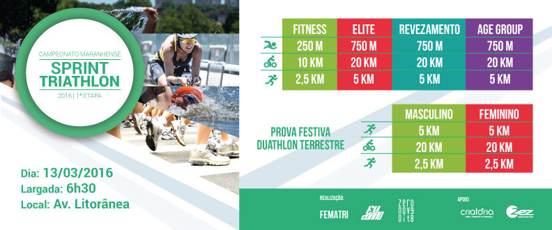 1ª Etapa do Camp. Maranhense de Sprint Triathlon